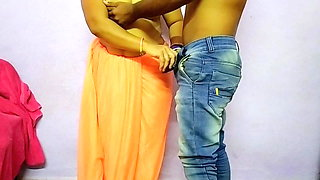 Indian Couple Has Bedroom Doggystyle Sex
