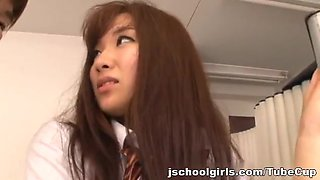 Teen schoolgirl hot fucking with thick cumshot Ayana Haruki