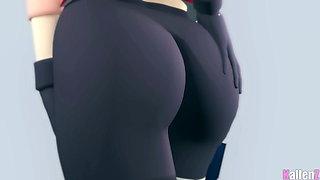 Delicious ass of sakura haruno