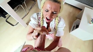 german slut puppy in open crouch glossy pantyhose