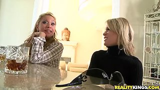 She watches her friend get fucked