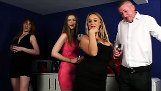 Office babes have some fun