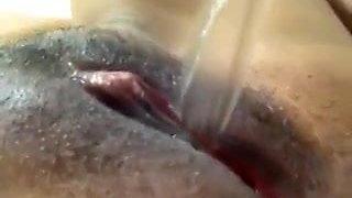 GF - closeup pee