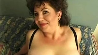 Hawt Breasty Older British Cougar Assbanged