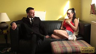 Pascal White And Pixiee Little - Submissive Babe Fucked Hard By Her Dom