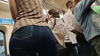 Muscular hot huge ass candid jeans
