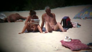 Nudist beach voyeur shots of sexy and tanned women