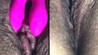 extreme clit massage (wet, closeup) 3
