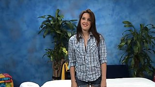 Succulent brunette perfection Jaslena Jade blowing for good