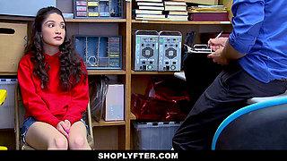 ShopLyfter - Teen Caught Looting Gets Cum Dumped