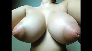 Huge suckable and lickable nipples