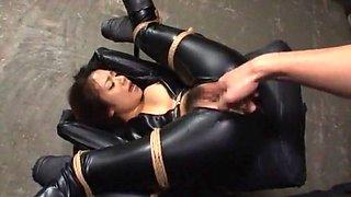 Hottest Japanese whore Shelly Fujii in Crazy BDSM, Masturbation/Onanii JAV clip