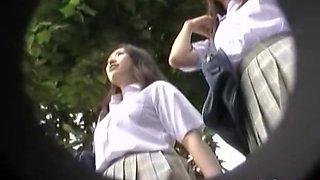 Vol.4 Pantie School Girls Stalker Groupie