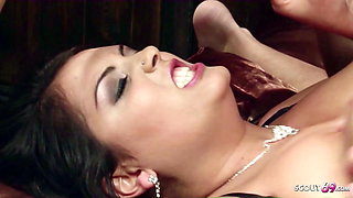 Rough Anal DP Threesome for Big Natural Tits MILF Jasmine Black