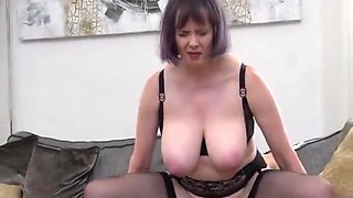 Mature Auntie and Young Stud Fuck