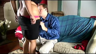 Betty Blac very hot bbw black maid and her white boss