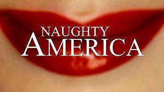 Keisha Grey's big natural tits get a raise - Naughty America