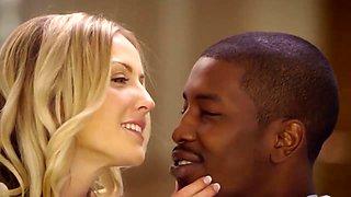 White Women BELONG to Black Men: Interracial Kissing 1