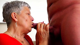 British older lady Savana fucking and sucking