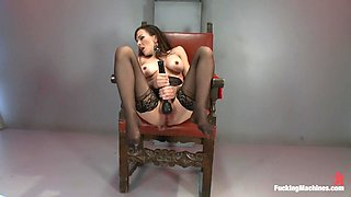 Hottest fetish adult movie with fabulous pornstar from Fuckingmachines