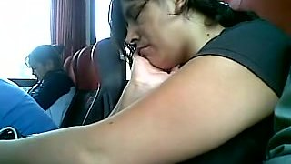 Touch Tit in Bus