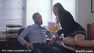 Cheeky Danni got Caught Masturbatin at Skewl!