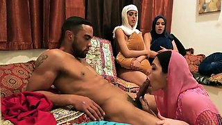 American group sex party xxx Hot arab ladies attempt foursom
