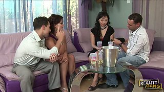Two Couples Fuck Each Other In Nasty Foursome