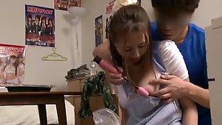 Amazing Japanese model Ruri Saijou, Mirei Omori, Nao Mizuki in Fabulous 69 JAV clip