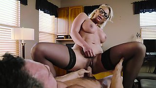 Phoenix Marie has a hairy pussy that needs hardcore sex