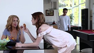 playfellow's daughter helps dad part 1 Rosalyn Sphinx has th