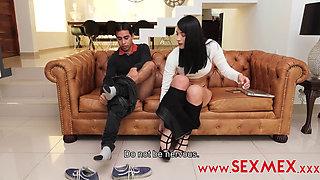 Sexmex Sacndole Provecho Al Nerd (Salome Gil)