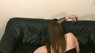 Two emo girls and one emo fella making a filmed threesome