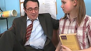 Cute Teen Babe Fucking Her Teacher So Hard and Nicely!