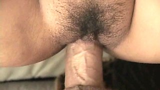 Horny American dude bangs spoiled exotic housewife Nakia Ty in upside down and mish poses rough