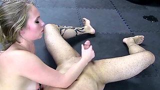 Dakota and Bt sex wrestling