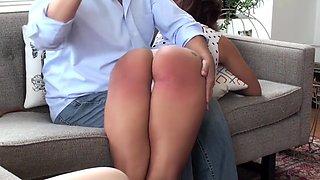 Assumetheposition - Daddy Spanks Teen Girl