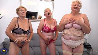 Mayla 3 Grannies Rnjoy Toyboy