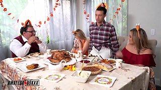 A Cuckold Family Thanksgiving