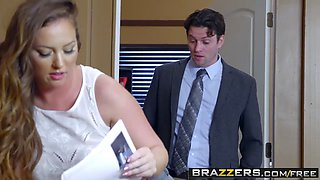 Brazzers - Big Butts Like It Big - Maddy Oreilly and Preston Parker -  Work Is Long When Youre