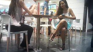 Novinhas no shopping