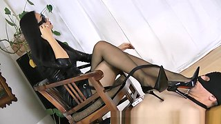 Horny Homemade video with Femdom, Smoking scenes