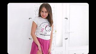 Teeny Lovers - Jenny Ferri - Teen photo model cockriding