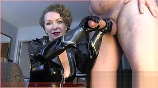 Mistress T - Get Fag Trained On Freak Cock