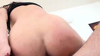 EXPOSED CASTING - Serbian babe gets fucked and squirts