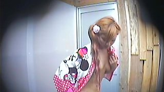 Japanese small tits get bared off in the shower room dvd TO-3959