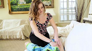 FamilyStrokes-  Crazy StepSis Seduces Big Brother