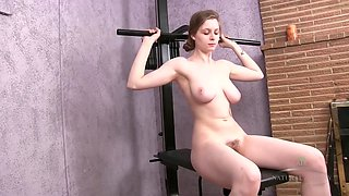 Nika naked workout