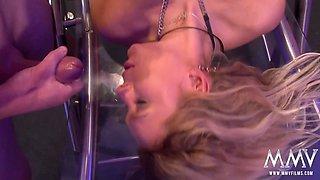 Curly Ann in German Granny Gangbang Bukkake - MMVFilms