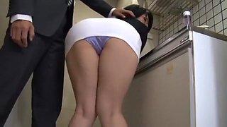 Exotic Japanese whore Yukari Orihara in Amazing Secretary, Blowjob/Fera JAV scene